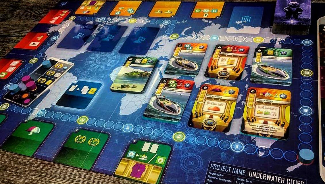 Underwater Cities board game