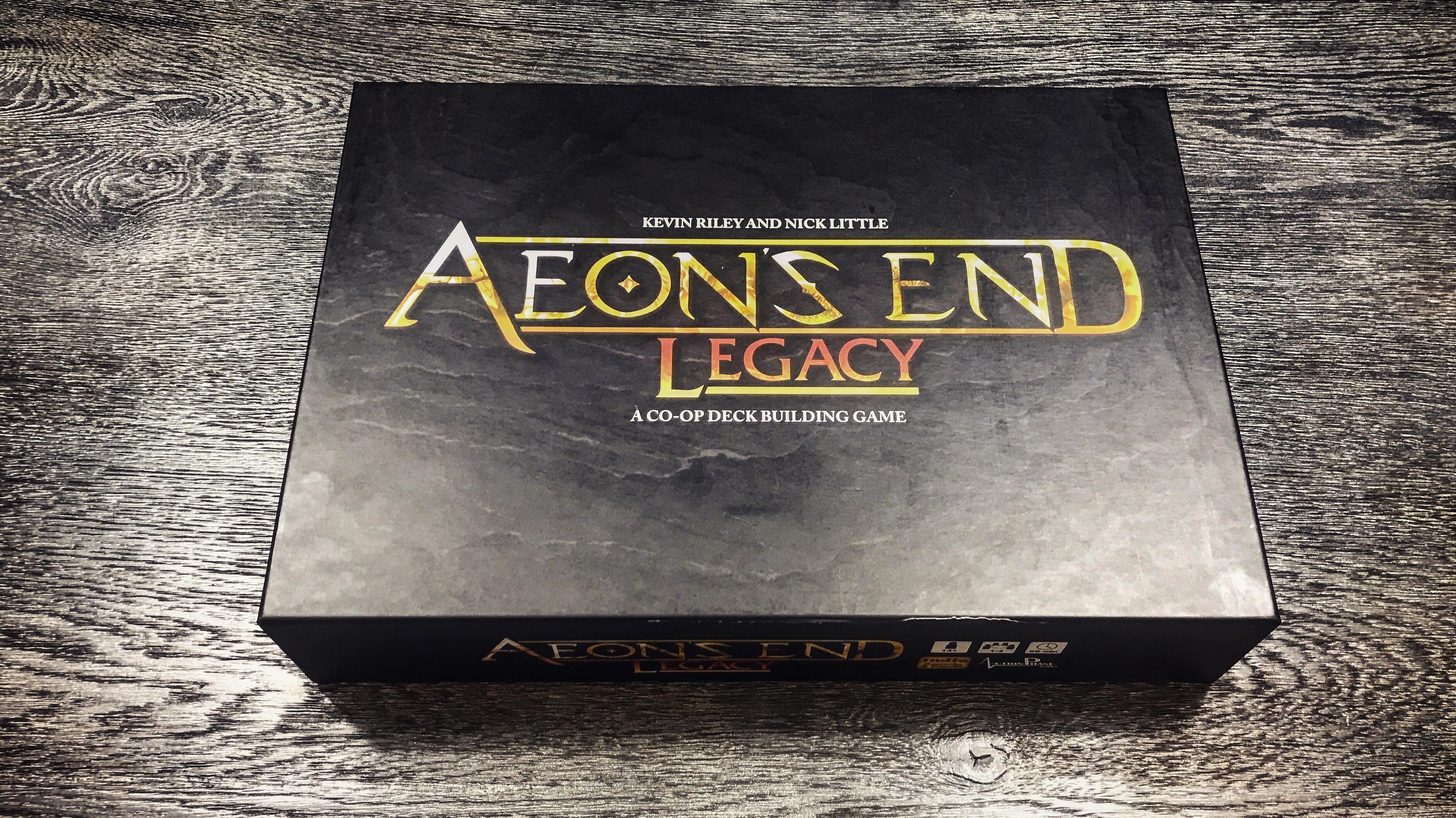 Aeon's End Legacy game box