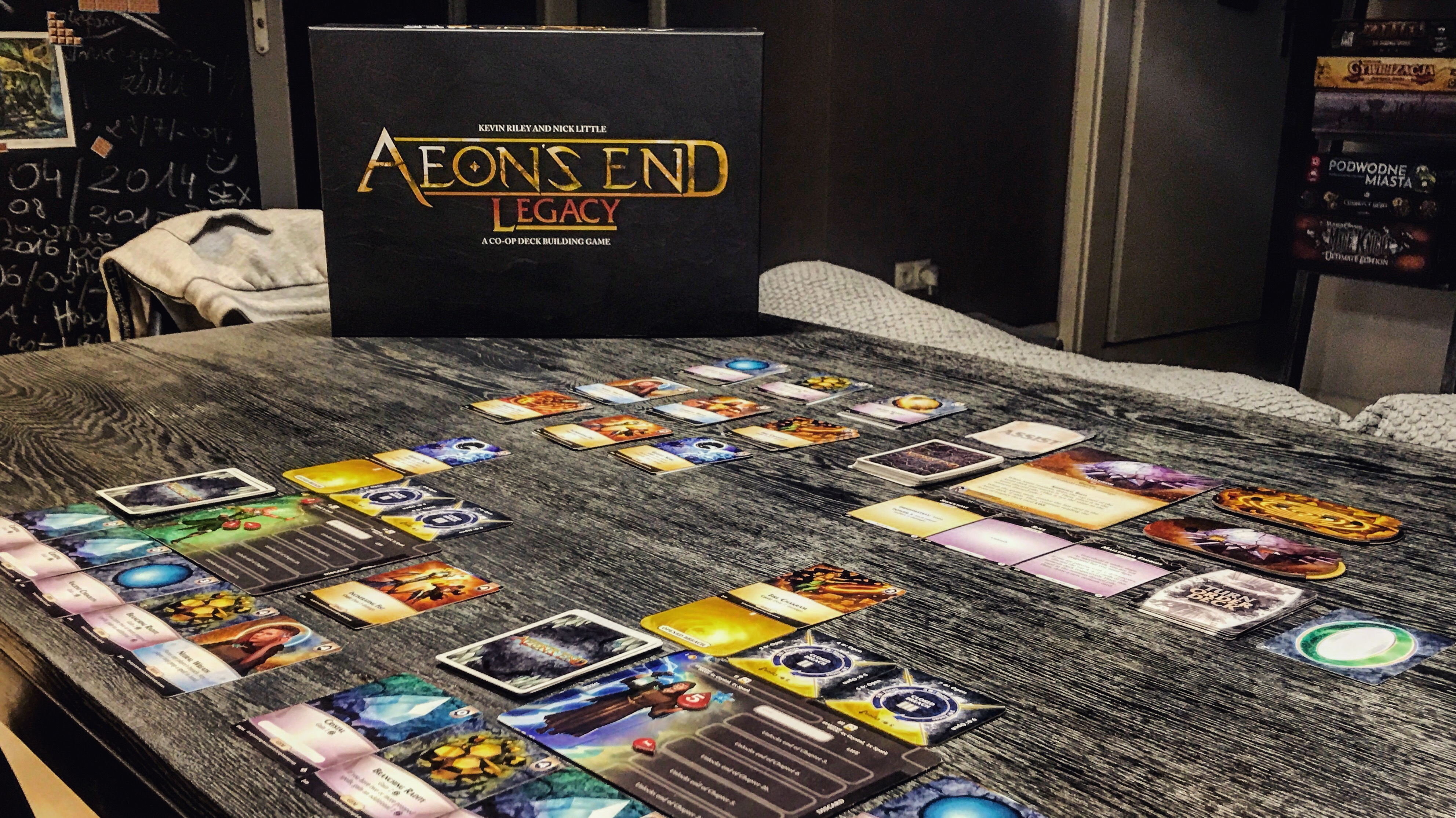 Aeon's End Legacy game and box